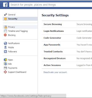 Proteceger votre compte  Facebook.2