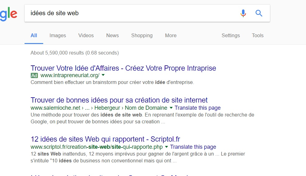 Comment cr er un site web trucs et astuces informatique for Idee de site web a creer