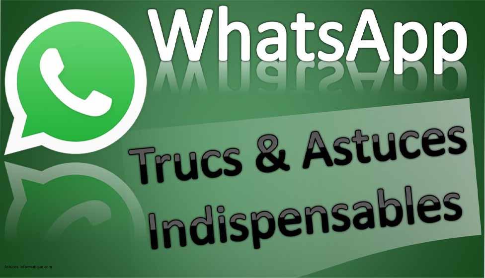 WhatsApp astuces