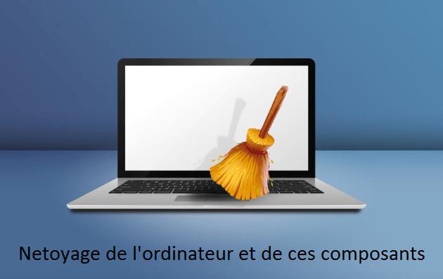 Netoyage de l'ordinateur