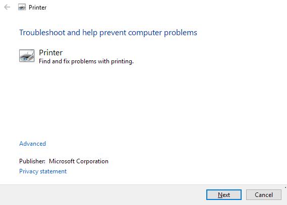 Résoudre problèmes imprimante