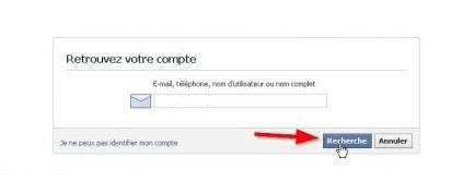 Jai Oublié Mon Mot De Passe Facebook