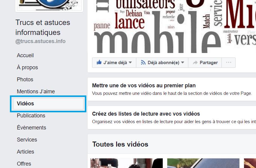 Télécharger vidéo Facebook