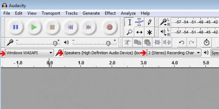 Audacity2 - Enregistrer son en ligne