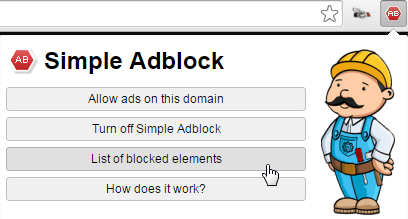 Simple Adblock ads