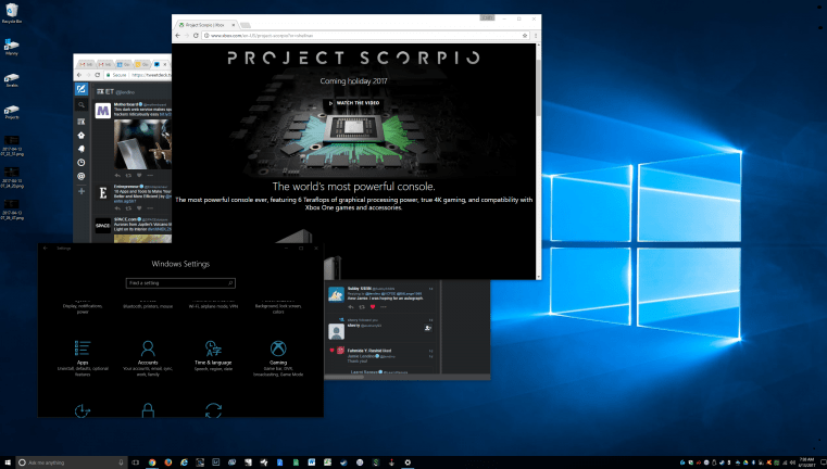 Astuces Windows 10
