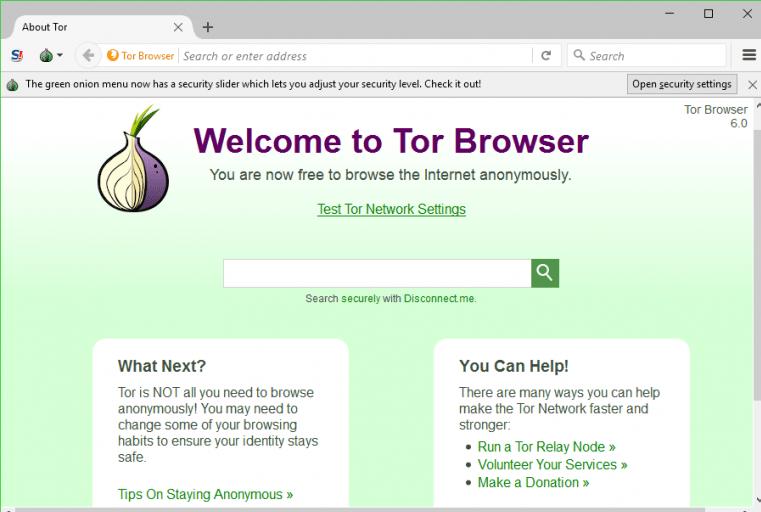 Changer IP, navigateur TOR