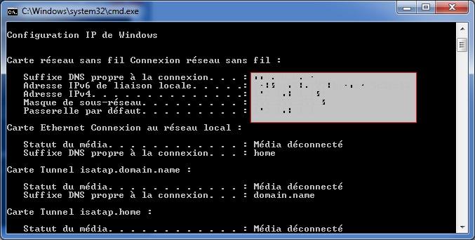 Netsh : Changer la configuration réseau en ligne de commande ...