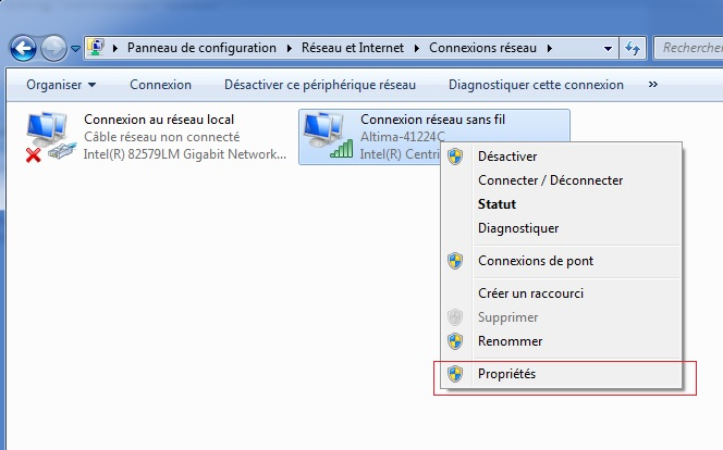 Changer IP dans Windows