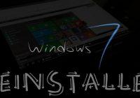 Désinstaller Windows 10 et retourner a Windows 7