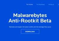 Malwarebytes - détecter et supprimer Keylogger