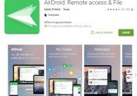 airDroid - envoyer des SMS gratuitement