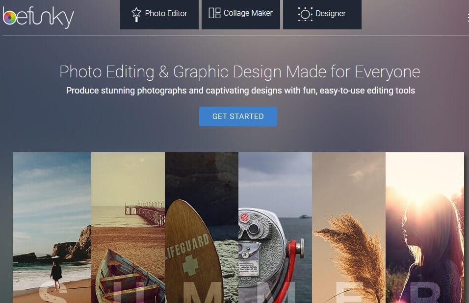 BeFunky - Comment modifier vos photos sur PC sans aucun logiciel