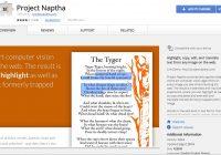 Project Naptha - Extraire text a partir des images