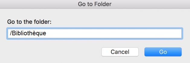 dossier bibliothèque mac