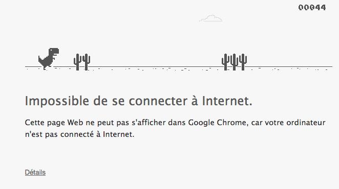 Problème connexion internet