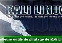 10 meilleurs outils de piratage WIFI de Kali Linux
