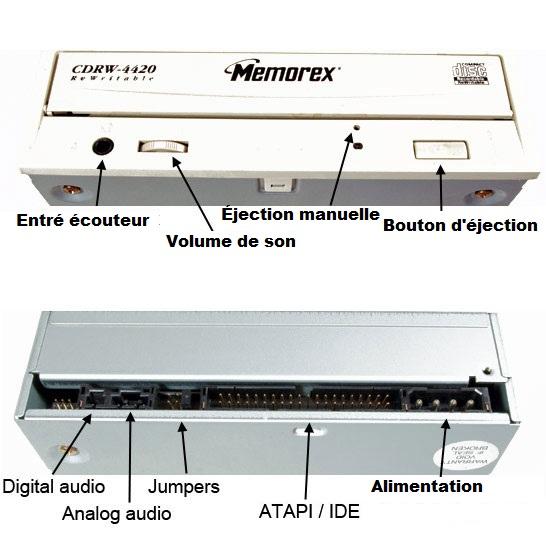 Lecteur CD-ROM