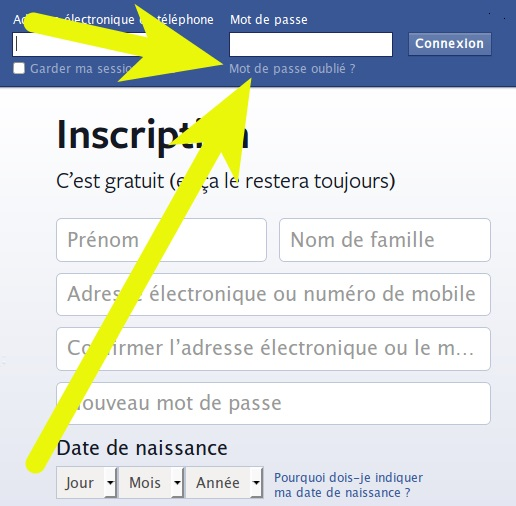 Pirater compte Facebook