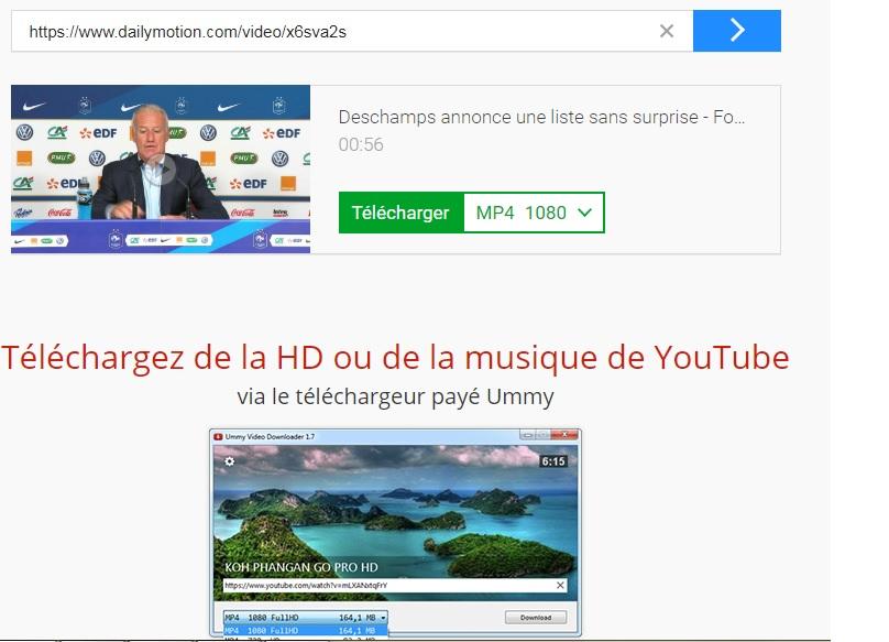 Télécharger vidéo Dailymotion
