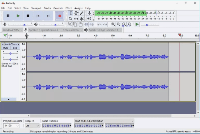 Audacity - de YouTube à MP3