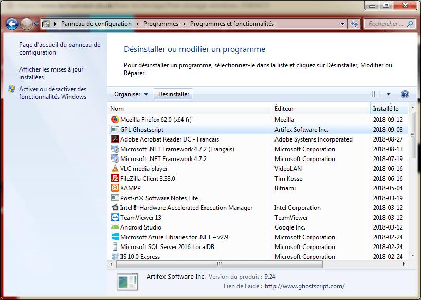 Désinstaller jeux libérer espace disque