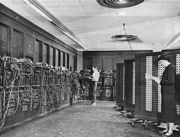 eniac - Première machine numérique