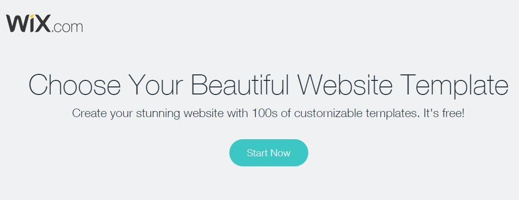 Hébergement web avec Wix