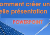 Comment créer une présentation PowerPoint