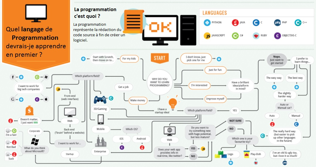 Analogie de la programmation informatique