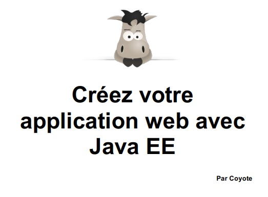 Application web avec Java EE