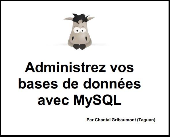 Base de données et MySQL