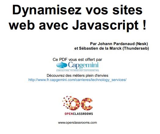 web et javascript