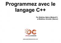 Tutoriel C++