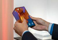 Smartphone pliable Mate X