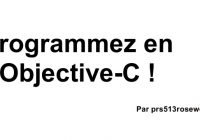 tutoriel-objective-c