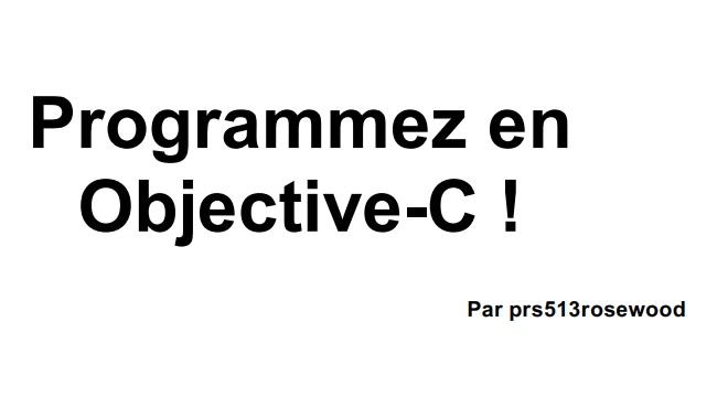 tutoriel-objective-c