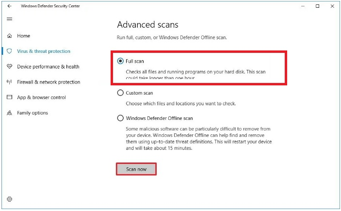 windows-10-Defender-Scan-avancee