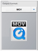 choisir le format de sortie dans l'usine de conversion vidéo hd