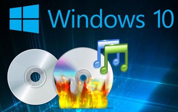 gravure cd Windows 10