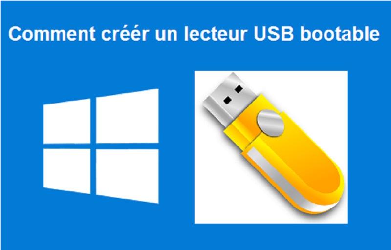 Créer un clé USB bootable