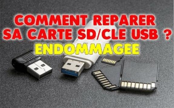reparer une carte sd endommagée Comment réparer une carte SD, un disque dur ou un clé USB corrompu ?