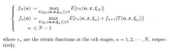 algorithme programmation dynamique